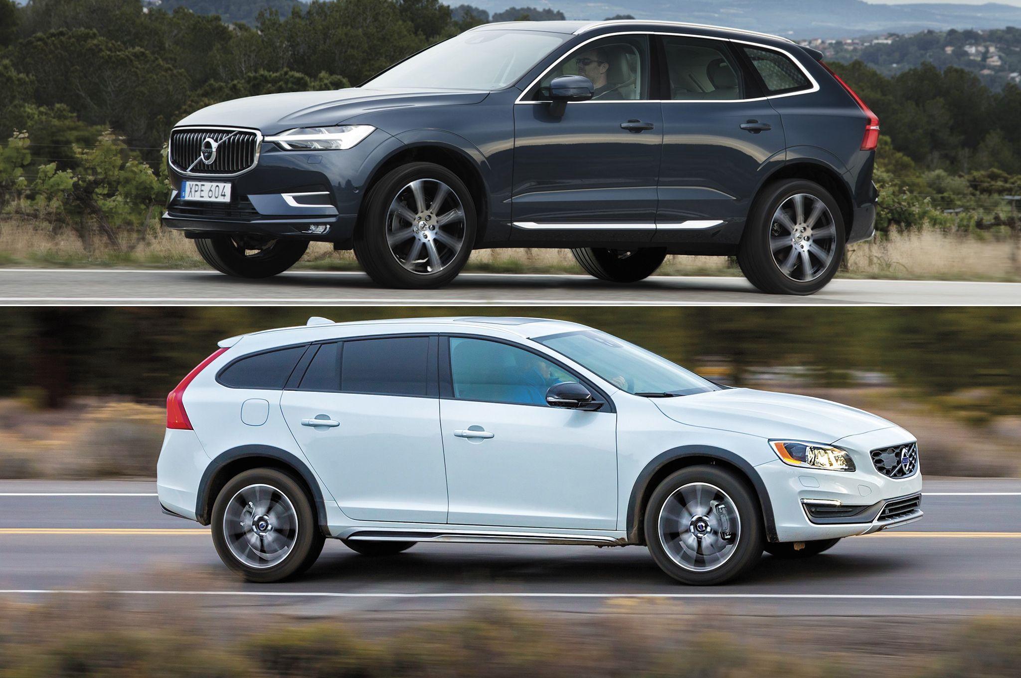 2018 Volvo Xc60 Or 2017 Volvo V60 Cross Country Volvo V60 Volvo Xc60 Volvo