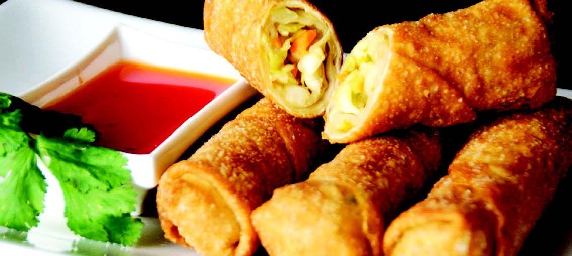 Egg rolls caseros: Como hacer la masa y el relleno.