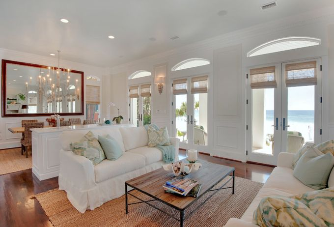 House of Turquoise: Erin Parker   coastal living room