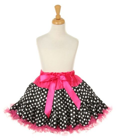 Pink Black polka dot Tutu 2T-6 at The Stylish Boutique  Find here: http://stores.ebay.com/The-Stylish-Boutique/_i.html?_nkw=tutu&submit=Search&_sid=544253133