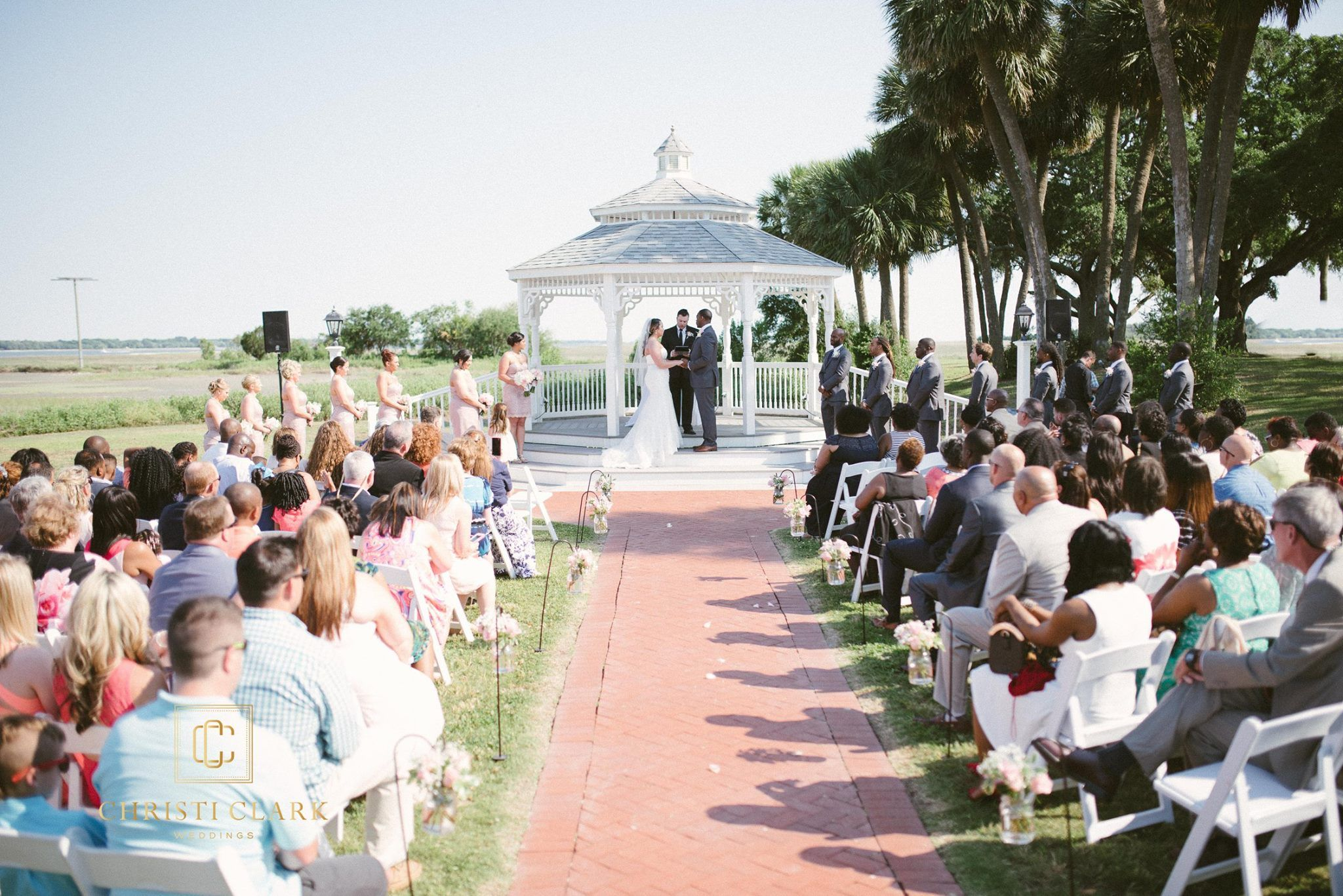 Beaufort, SC wedding at Traditions aboard MCRD Parris Island