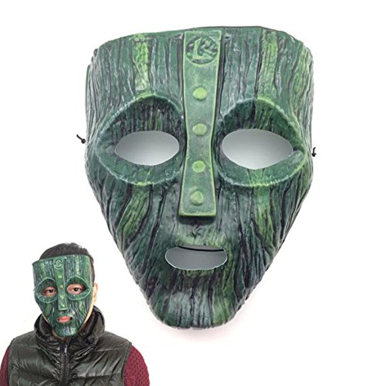 Cool Loki Mask Jim Carrey Costume Fancy Dress Halloween Cosplay ...
