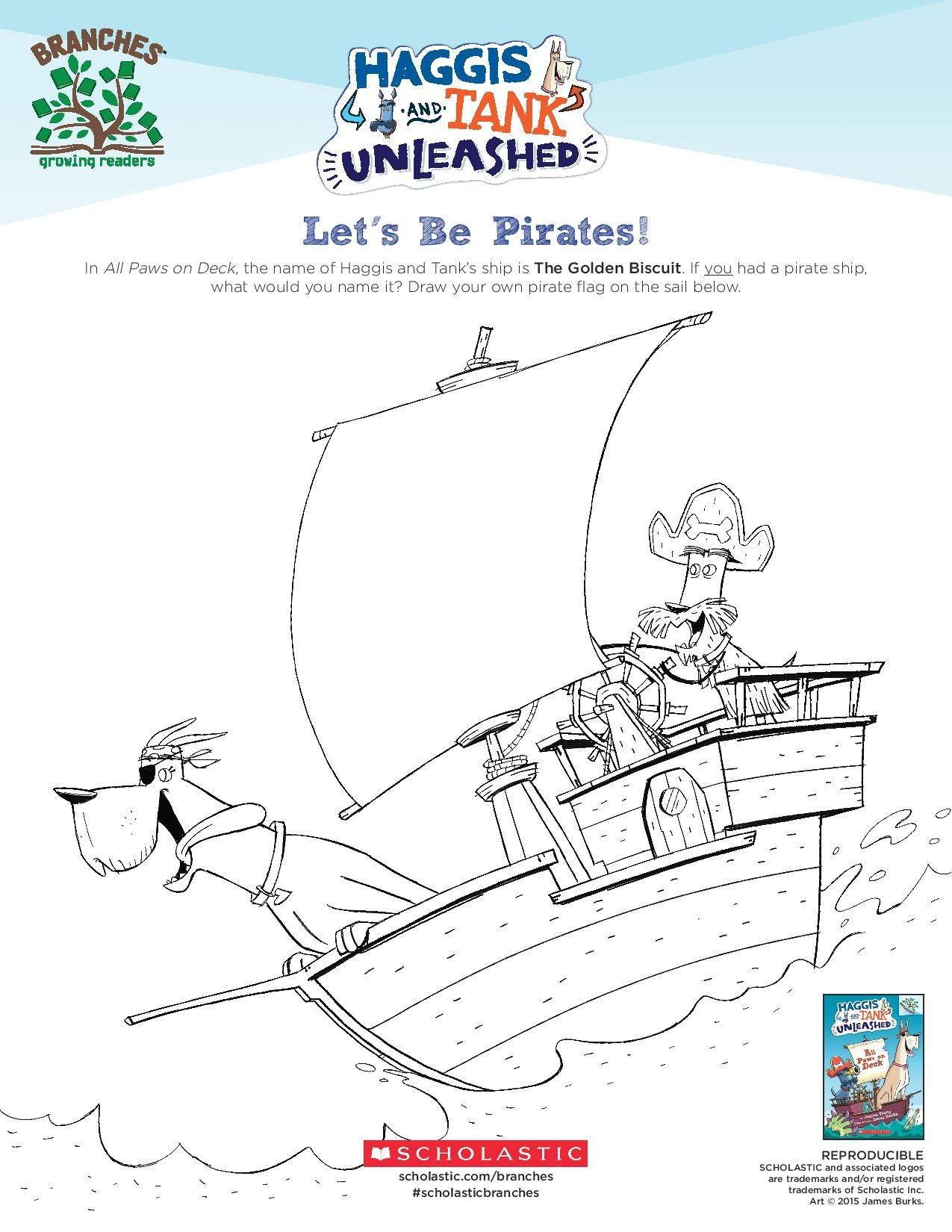 Draw Your Own Pirate Ship Flag Let Your Young Reader S