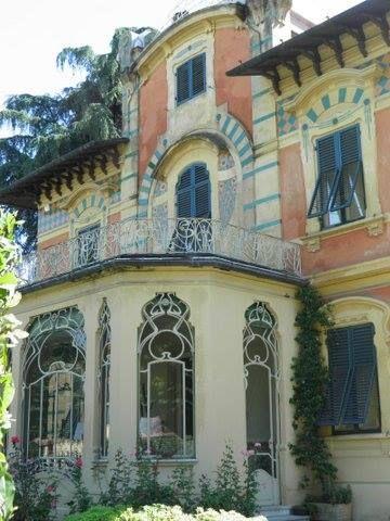 Liberty House Italian Art Nouveau In Tuscany
