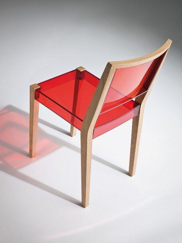 Technopolymer #chair By GABER | #design Marc Sadler #red. Furniture ...