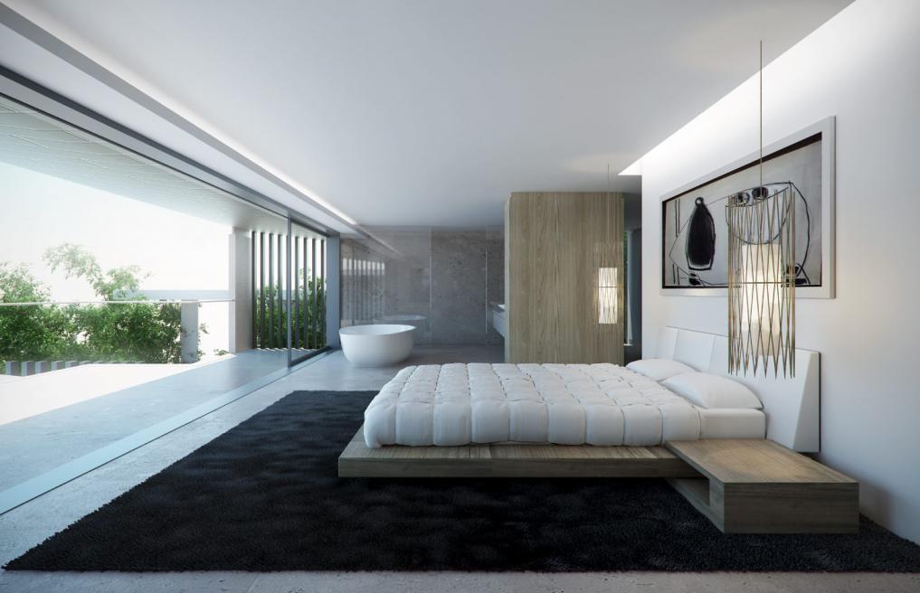 Modern Bedroom Design  A Boyle 17  Sydney Australia