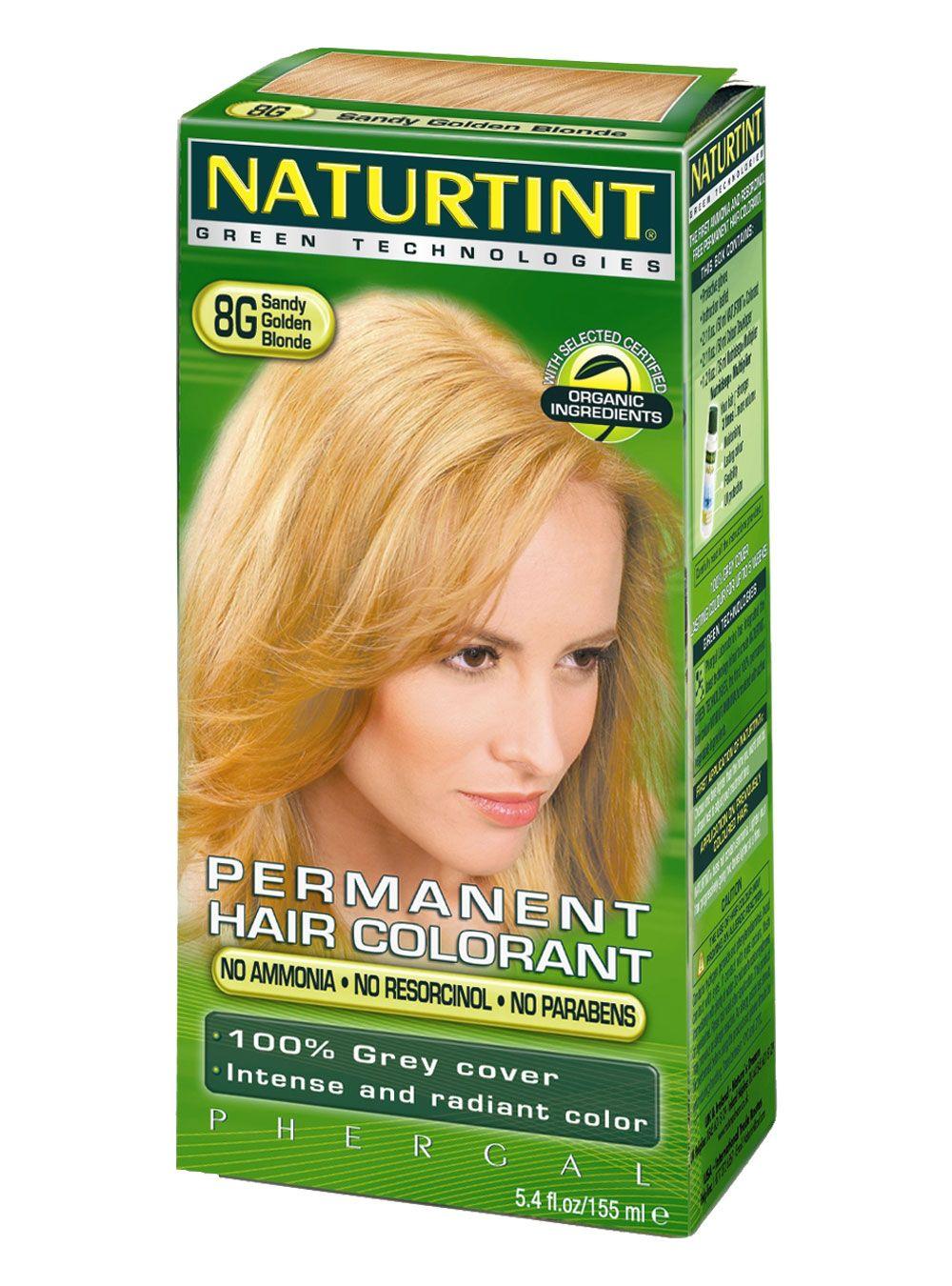 Hair Colour Sandy Golden Blonde 8g Ecorama Eco Friendly