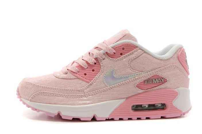 ceb9134bc426 Nike Air Max 90 All Pink Womens Shoes Light Baby Special
