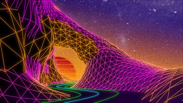 Desktop Outrun Backgrounds Retro Waves Wallpaper Retro Futurism