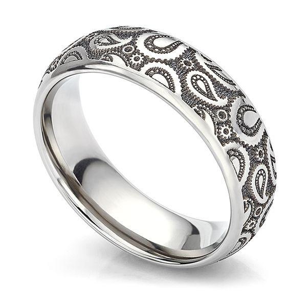 Paisley Anium Wedding Ring