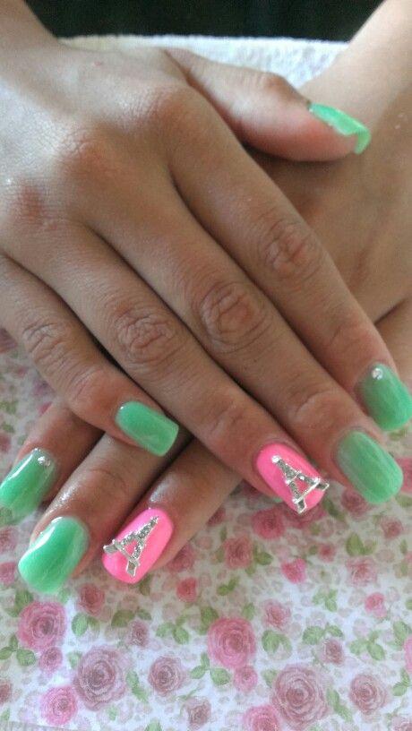 Uñas verde menta | nail | Pinterest | Uñas verde menta, Uñas verdes ...