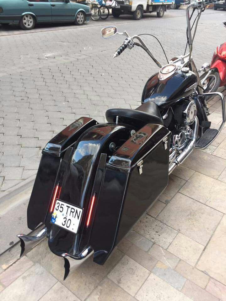 Yamaha V-Star XVS1100 Bagger   Bike   Yamaha motor, Yamaha v