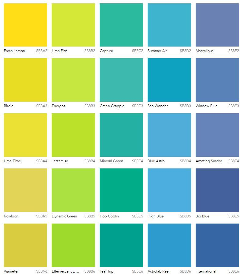 Go bold and bright with these colours from Dulux. | Paint ...