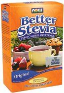 One of the BEST stevia sweetener options. It us the only one I have foubd that DOES NOT have the bitter aftertaste. It comes in a shaker style container as well as a liquid dropper. Better Stevia - Packets 100 Packets {#stevia #nowbetterstevia #healthysweeteners #nobitteraftertastestevia #powderstevia #alternativesweeteners}