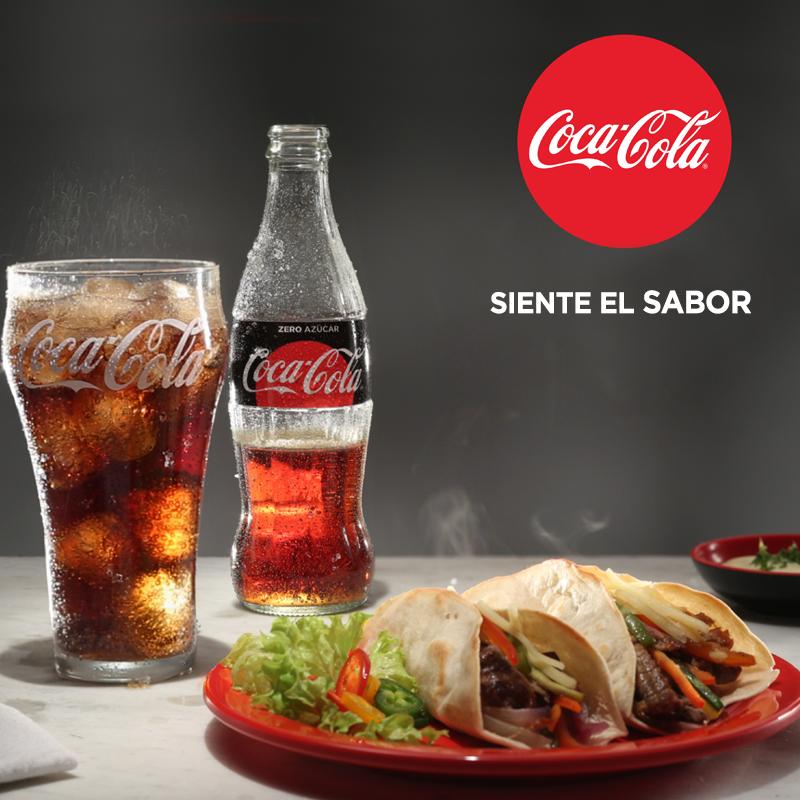 Publicidad Coca Cola Siente El Sabor Pin En Social Media