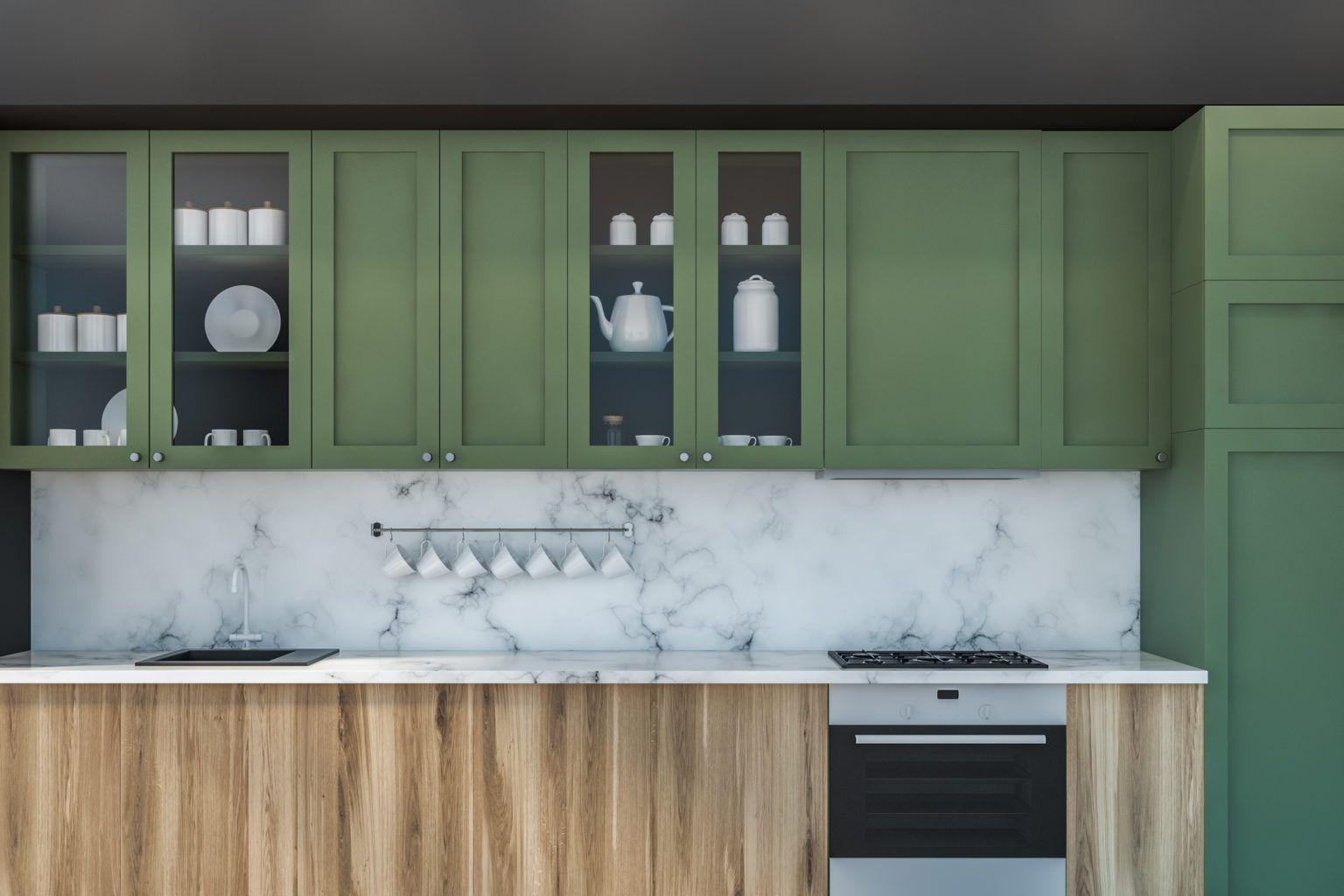 27 Kitchen Cabinet Colors That Pop