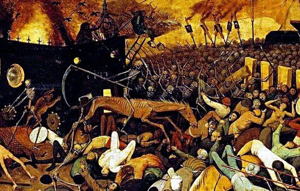 peter brueghel, el viejo: el triunfo de la muerte (fragmento, Hause ideen
