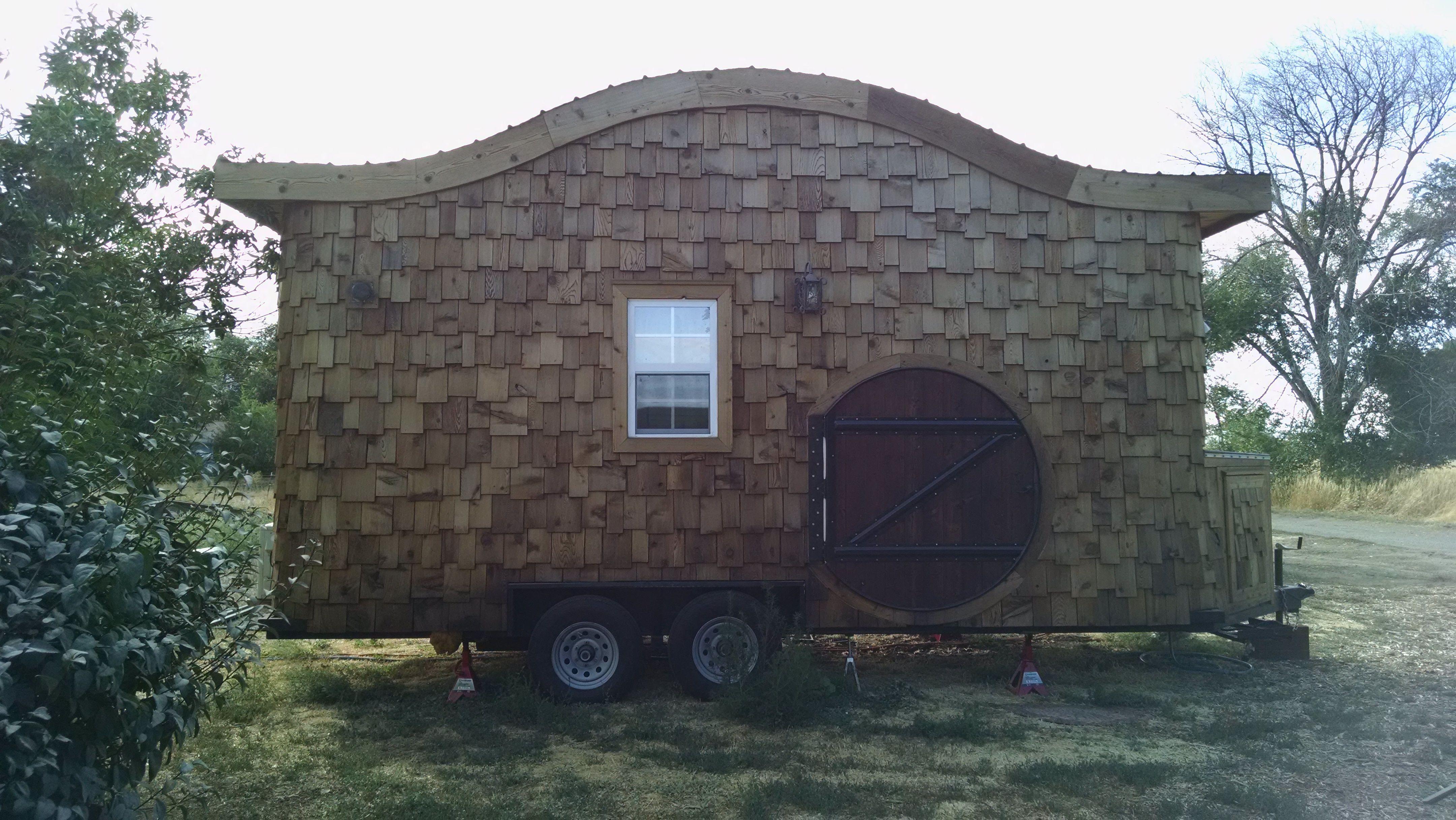 Tiny Hobbit House On Wheels Tiny House For Sale In Jerome Idaho