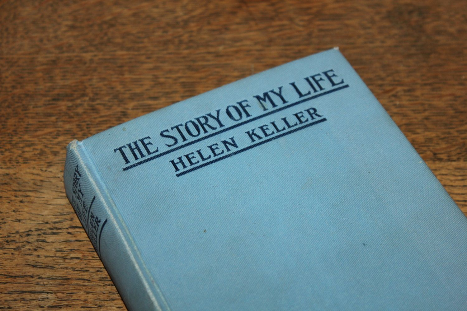 The Story Of My Life By Helen Keller 1905 Vintage Book Antique