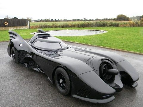 Batmobile custom made by a fan will be up for auction soon