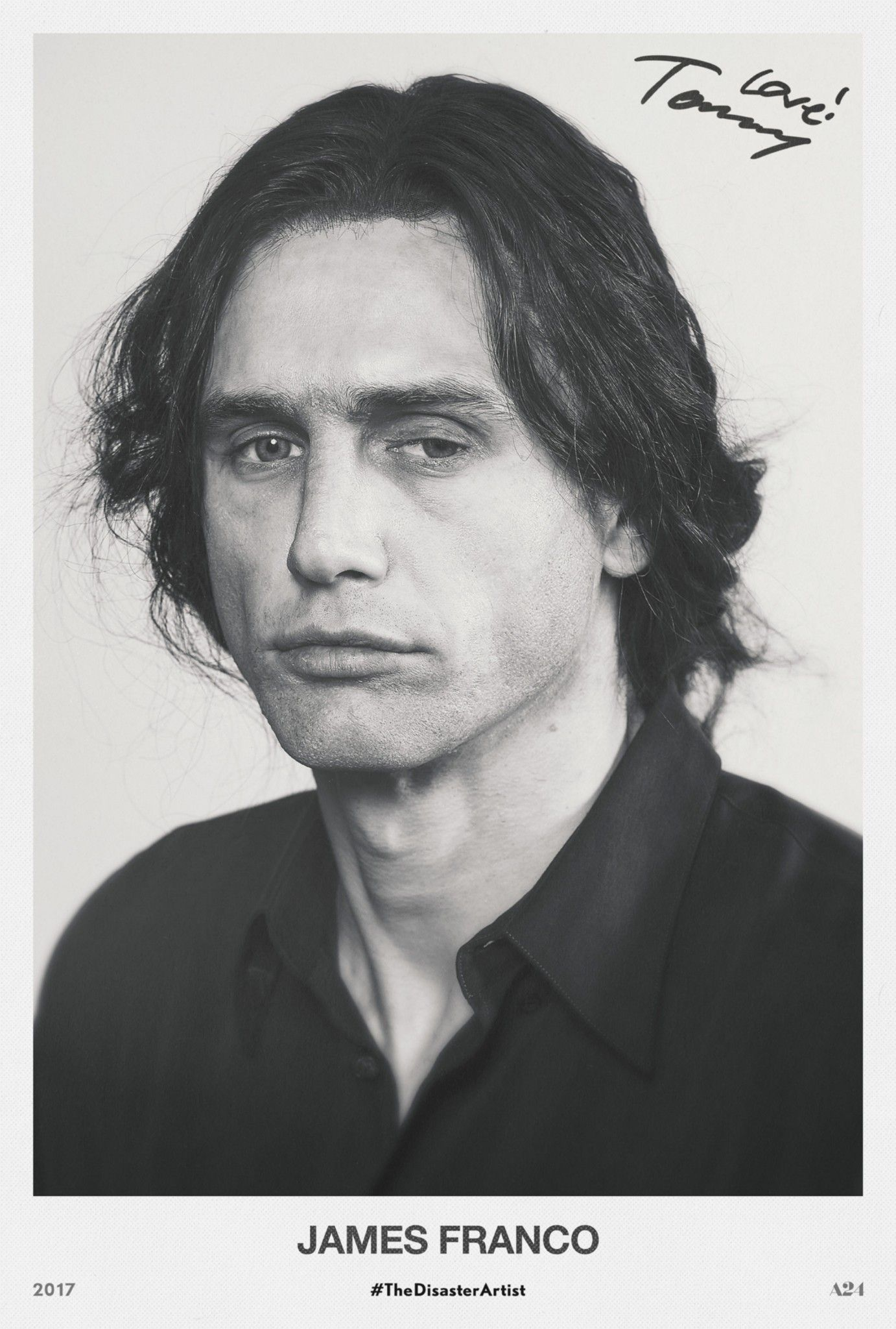 A James Franco/Tommy Wiseau headshot by great professional