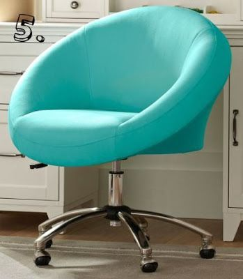 Gorgeous Robinu0027s Egg Blue Office Chair... Aqua | Aqua Turquoise Teal |  Pinterest | Blue Office, Aqua And Egg