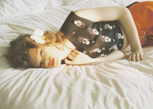 "Kelly Mittendorf in Ginza Japan September 2012""In Bed"" by Chikashi Suzuki"