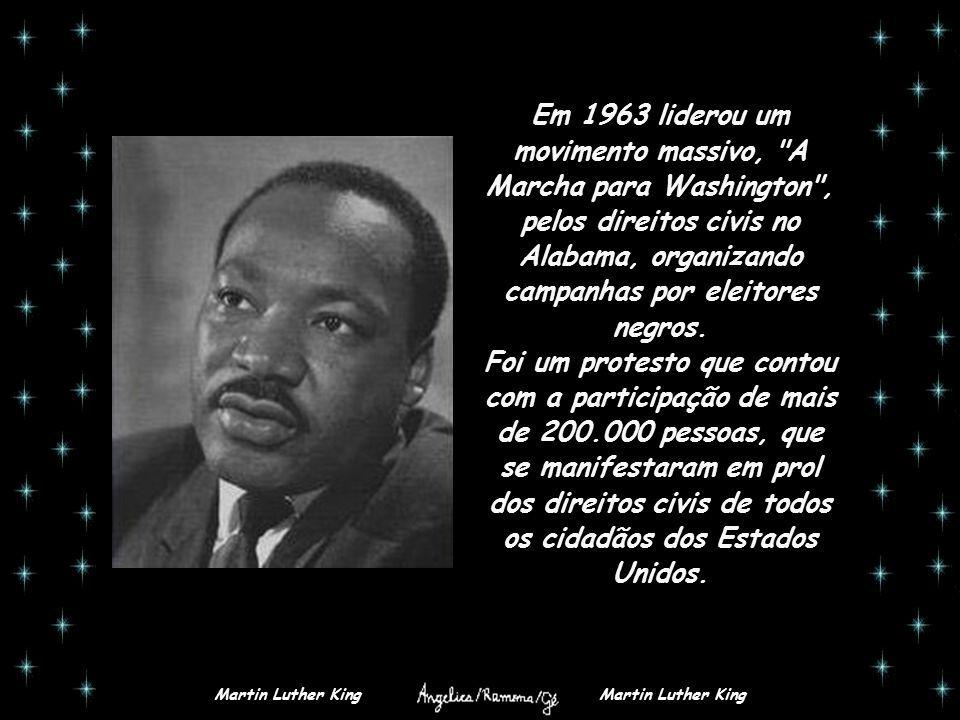 Martin Luther King Biografia Martin Luther King Nasceu Em 15 De