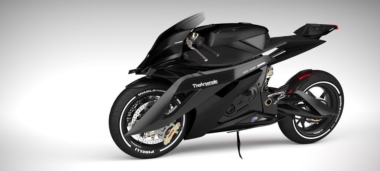 "sid766:  ""TheArsenale x Rusak : Concept Superbike / https://thearsenale.com/ http://www.rusak.be/ © rusak 2017  """