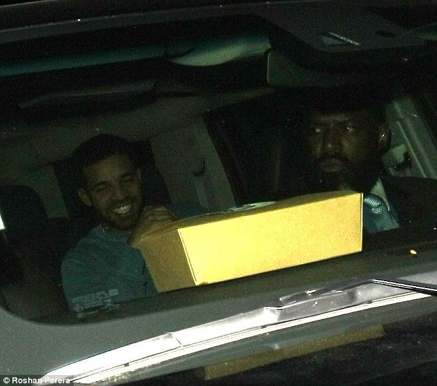 Still smiling: Drake did a some damage control on Tuesday when he told his fans not to mis...