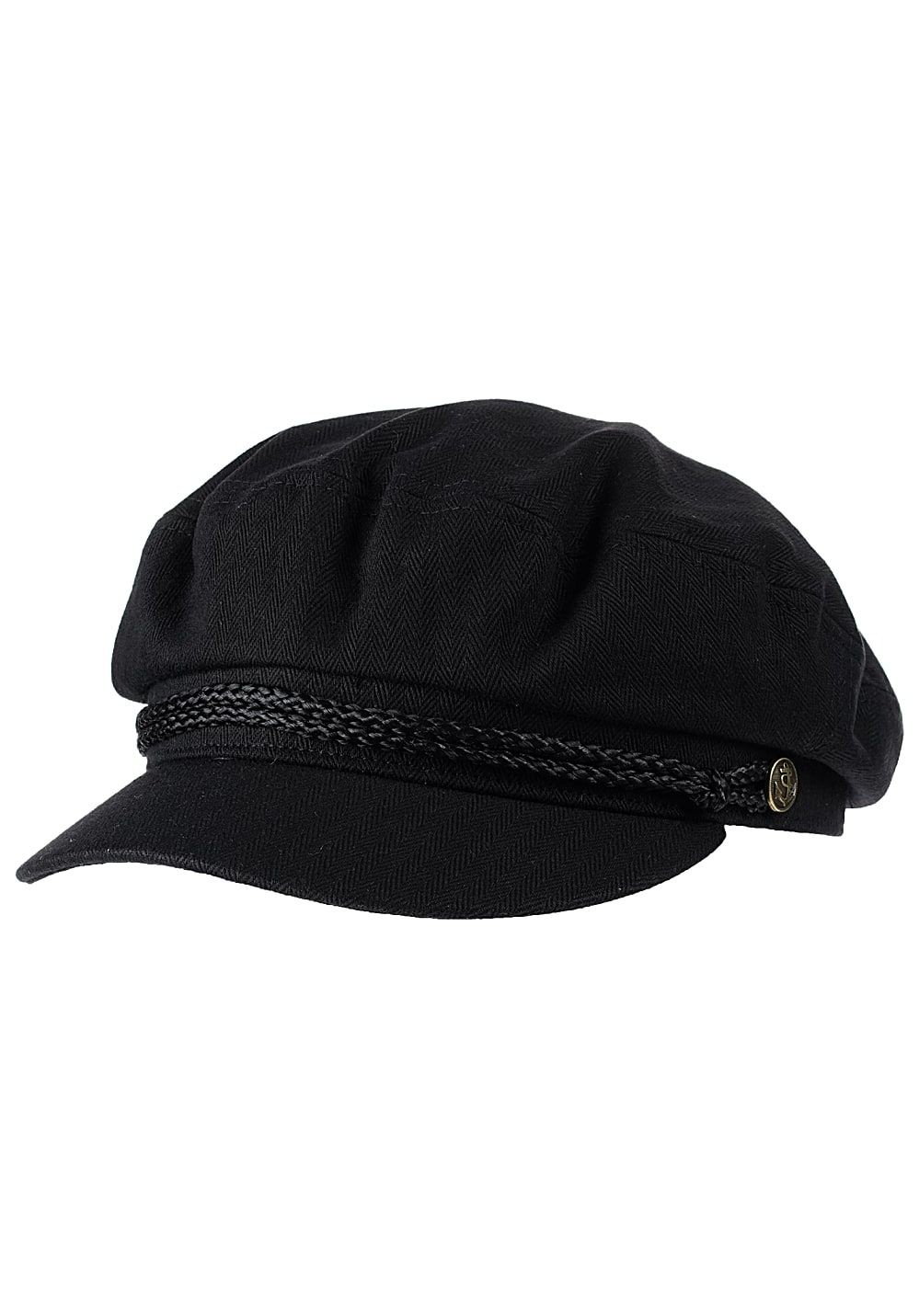 BRIXTON Fiddler - Fitted Cap - Schwarz - Planet Sports