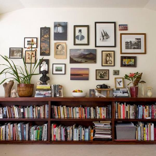 Low Bookshelves, Bookshelf, Bookcase, Wall Of, Built Ins Original Pin: Are  You Unsure On How To Decorate Your Small Living Room? Check Out 15 Creative  And ... Part 96