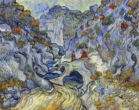 Vincent van Gogh, The Ravine (Les Peiroulets), 1889 on ArtStack #vincent-van-gogh #art