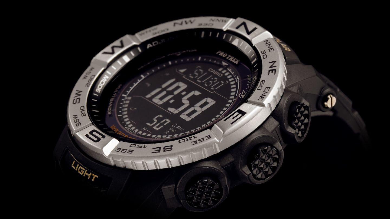 Casio Watch Pro Trek Tough Solar Black Resin Case Strap Mens Protrek Prw 3100y 1dr Jam Tangan Pria Hitam Prw35103500