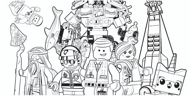 Lego Ausmalbilder | heimhifi.com