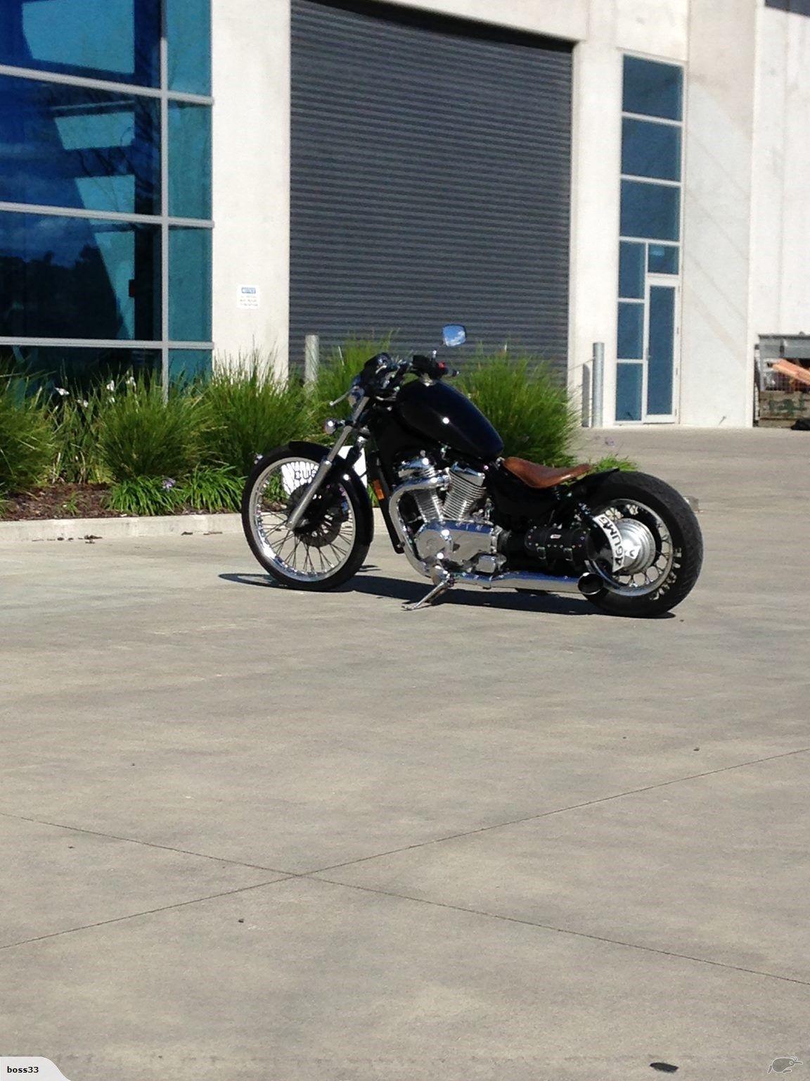 20 VS20 Custom bobber   Trade Me   Bobber chopper, Chopper bike ...