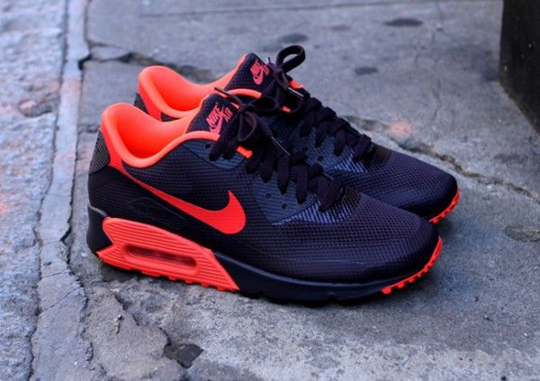 new concept 3d741 cbef4 Nike Air Max 90 – Wine   Crimson HYPERFUSE
