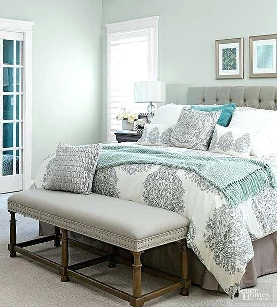 Image Result For Grey White Seafoam Green Bedroom
