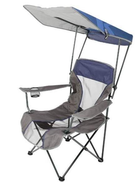 13 Best Outdoor Chairs With Canopy Or Shade Unique Features Best Tent Cots For Camping In 2021 Outdoor Chairs Beach Chair With Canopy Outdoor Folding Chairs