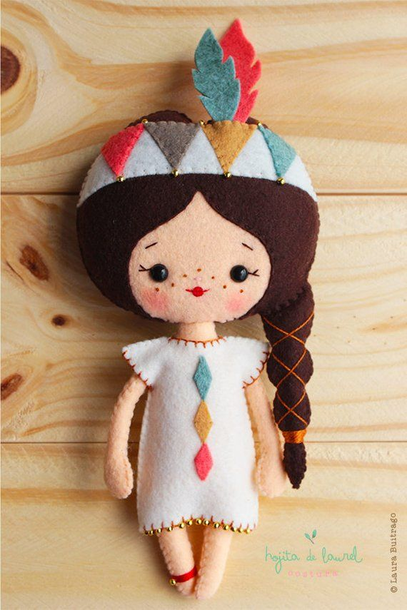 Native Americans Dolls, Handmade gifts, Nursery Decor, Gifts for kids, Party favors for kids #americandolls