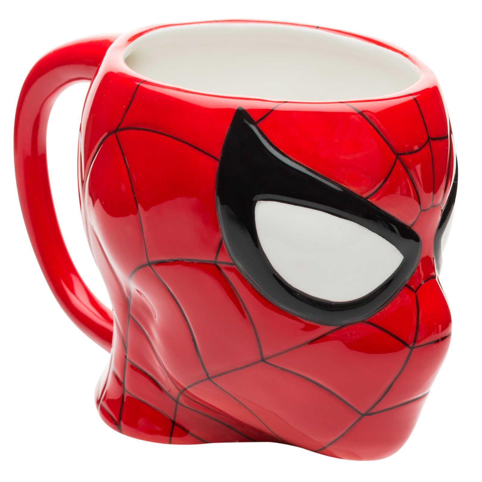 Marvel comics sculpted coffee mug spiderman 13oz mugs
