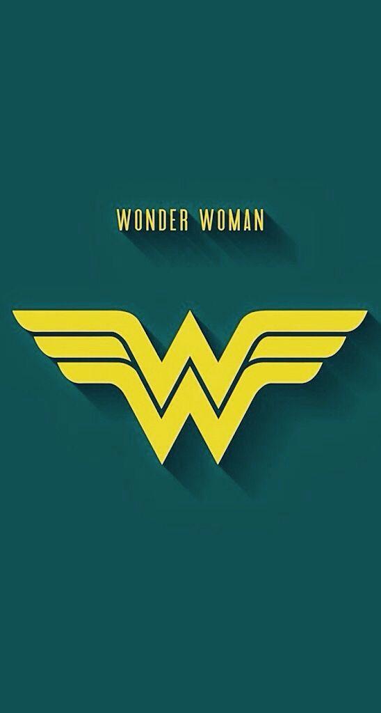 Wonder Woman Siluet Wallpaper Ponsel Animasi