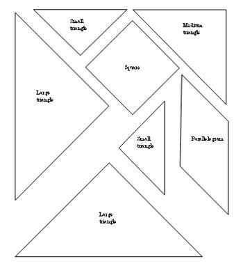 1000+ images about math-tangrams on Pinterest | Puzzles, Tangram ...