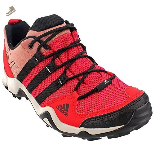 adidas Outdoor Women\u0027s AX 2 W Ray Red/Black/Raw Pink Sneaker 8.5 B