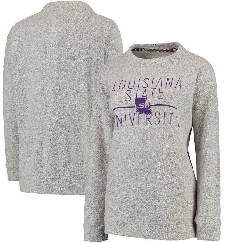 New Lsu Pressbox Long Sleeve Shirts Adult