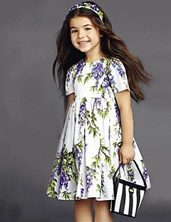 efef2008fe17 Girl s Vogue Cotton Blend Fall Winter Fall Spring Lilac Flower ...