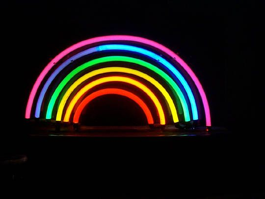gay pride neon signs