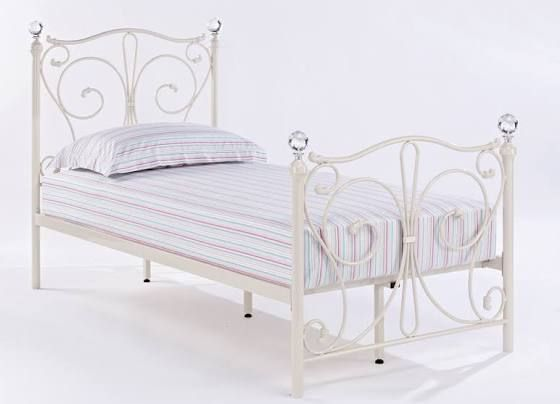 Girls Single Beds With Diamond Knobs Bedframe Pinterest Bed