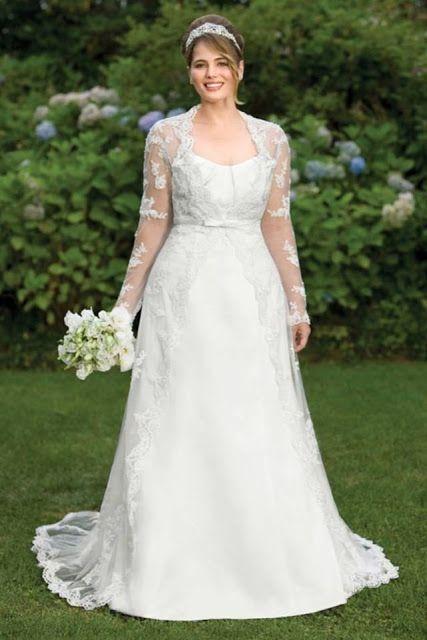 Mejores vestidos de novia para gorditas