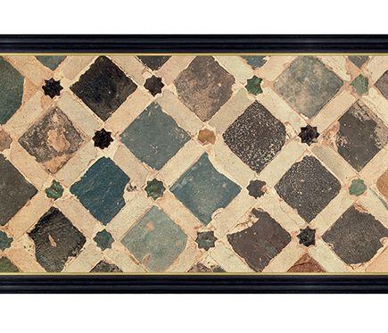 Cenefa Clásica De Papel Ceramica Mosaico Ref 16759246 Leroy Merlin Baldosa Decorativa Mosaicos Cenefa
